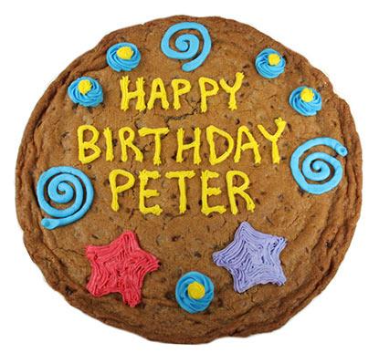 Cookie gram - Happy Birthday