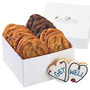 Get well cookie gift box