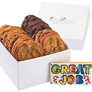 Great job gift box of cookies