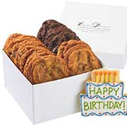 Happy Birthday Gift Box of Cookies