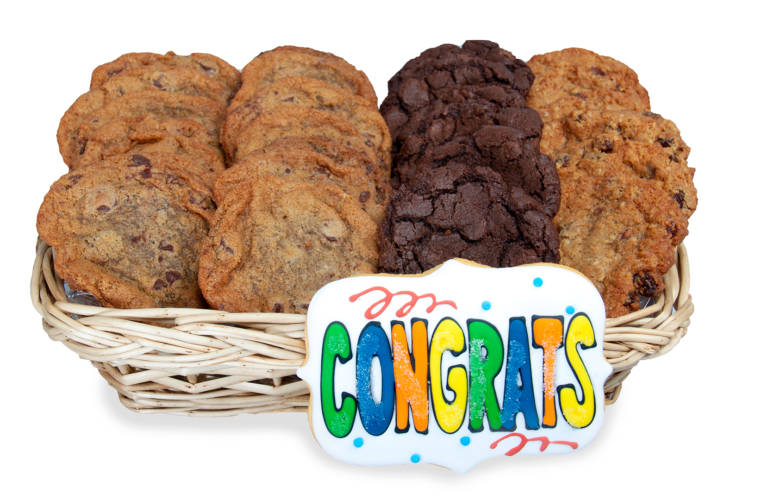Congrats Gift Basket